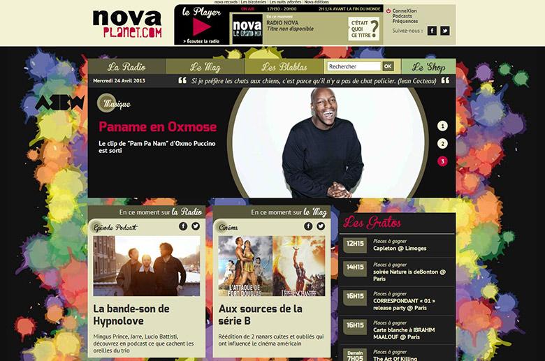 Kompaii habille Radio Nova