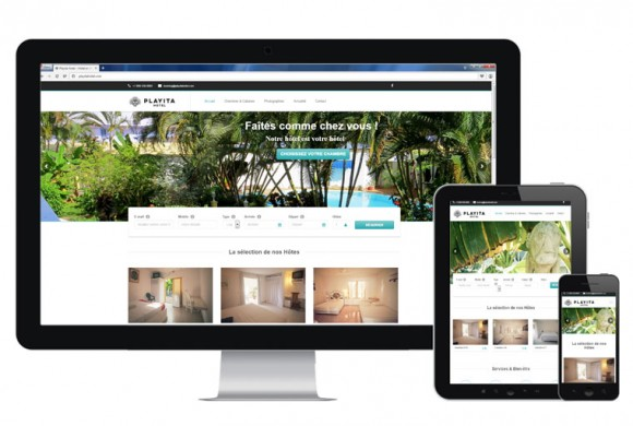Playita Hotel Website